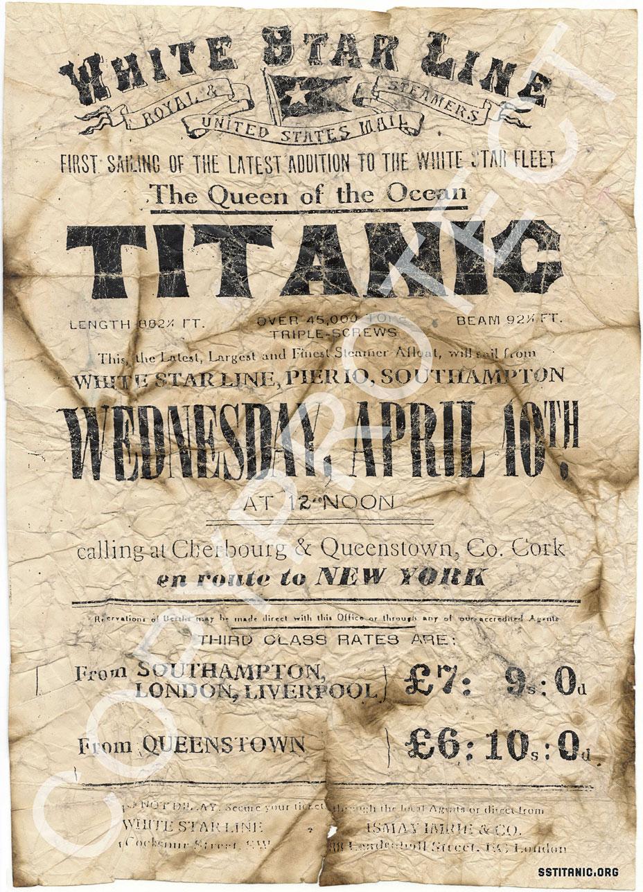 Sstitanic Org Titanic Online Artifacts Rarities